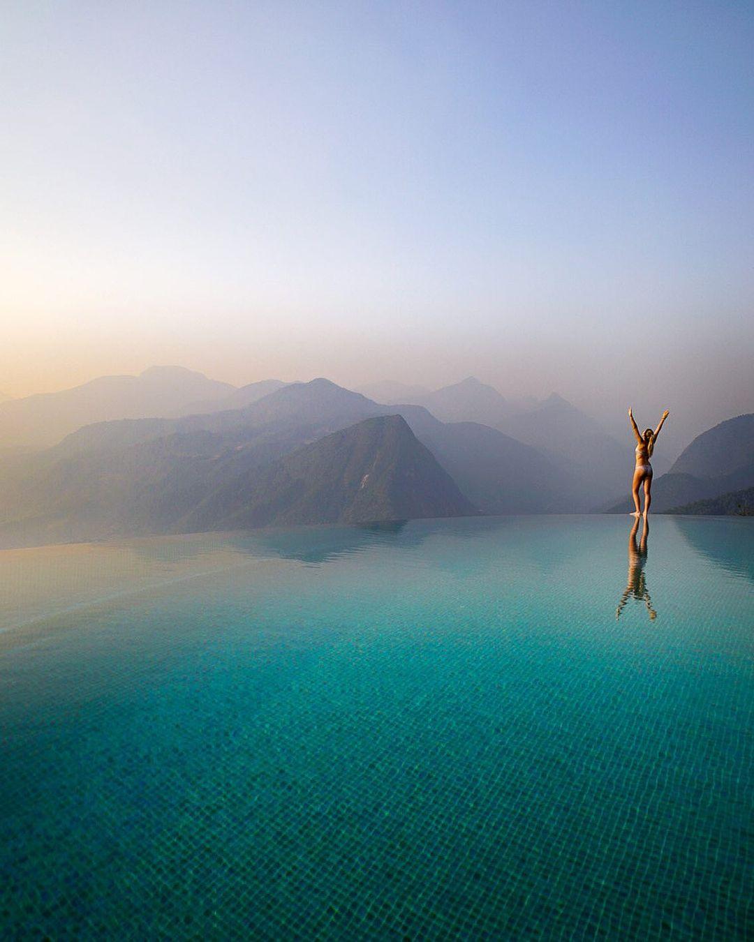 Bể bơi vô cực đẹp nhất ở Việt Nam