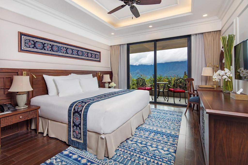 Silk Path Sapa Resort and Spa có thiết kế tinh tế, sang trọng