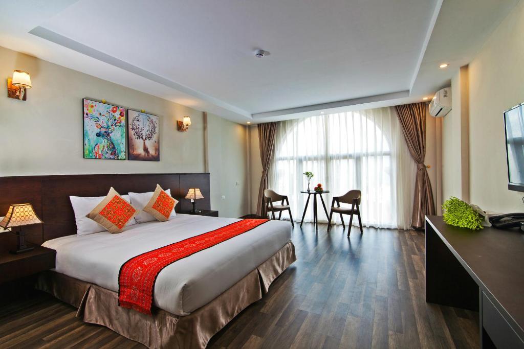 Khách sạn Lacasa với nội thất sang trọng