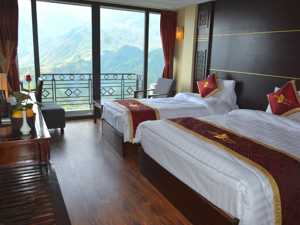 Vista Hotel có giá tốt so với chất lượng phòng